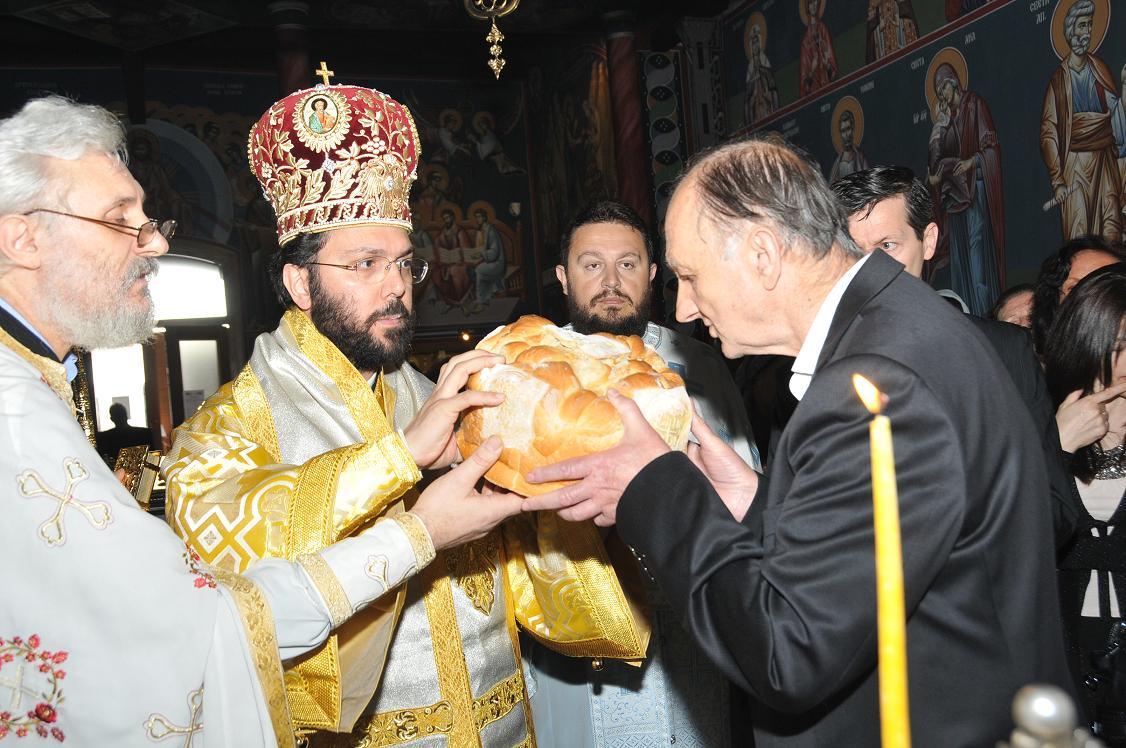 Храмовна слава цркве Васкрсења Христовог у Бечу