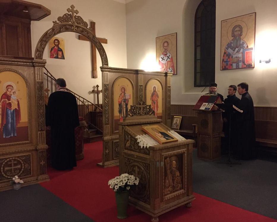Посета Епископа Андреја парохији у Женеви