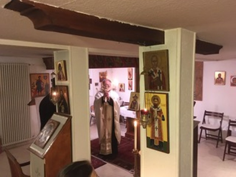 Посета Његовог Преосвештенства г. Андреја франкофонској парохији  Светог Маријуса и Светог Григорија Паламе у Лозани