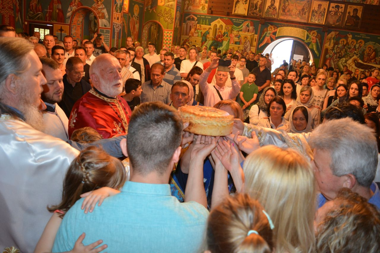 Свети Василије прослављен у Линцу