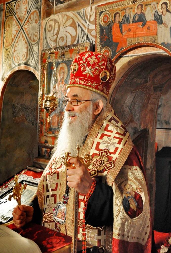 Уснуо у Господу Епископ ваљевски г. Милутин